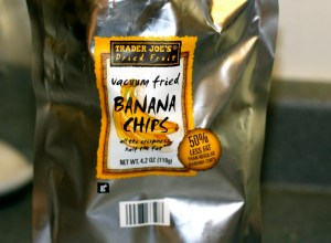 Trader Joe's Vacuum Fried Banana Chips