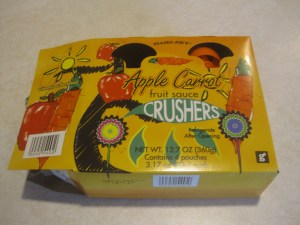 Trader Joe's Apple Carrot Fruit Sauce Crushers