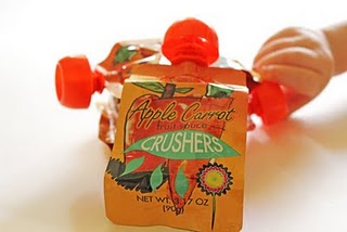 Trader Joe's Apple Carrot Fruit Sauce Crusher Pouch