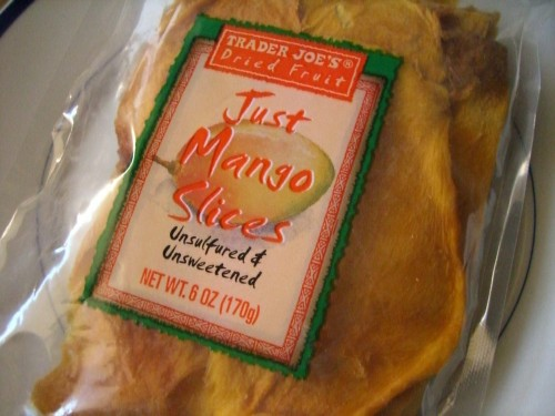 Trader Joe's Dried Fruit - Just Mango Slices, Unsulfured & Unsweetened