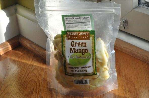 Trader Joe's Dried Fruit Green Mango