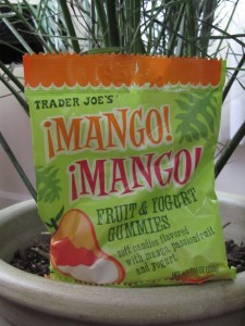 Trader Joe's Mango Mango Fruit and Yogurt Gummies