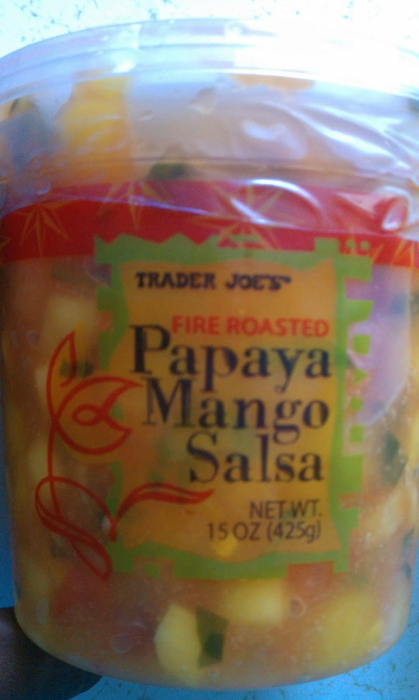 Trader Joe's Papaya Mango Salsa