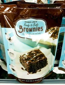 Trader Joe's Ready to Bake Brownies