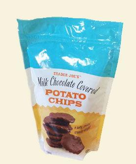 Trader Joe's Milk Chocolate Covered Potato Chips
