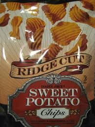 Trader Joe's Ridge Cut Sweet Potato Chips