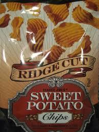 Trader Joe's Ridge Cut Sweet Potato Chips