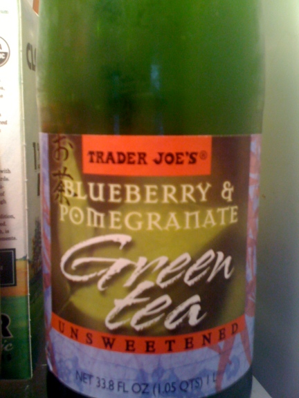 Trader Joe's Blueberry and Pomegranate Green Tea