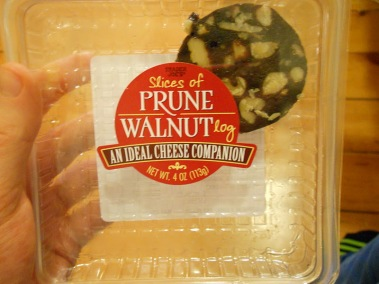 Trader Joe's Prune Walnut Log