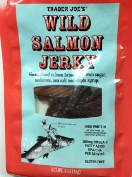 Trader Joe's Wild Salmon Jerky