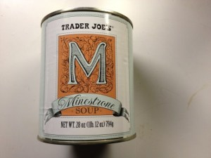 Minestrone in a 28 oz can? Is Trader Joe's plunging into madness - or simply ahead of the curve?