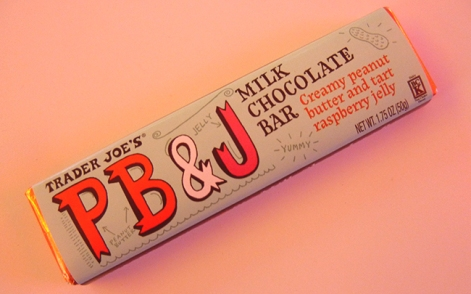 Trader Joe's Peanut Butter and Jelly Milk Chocolate Bar