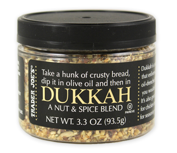Trader Joe's Dukkah Nut and Spice Blend