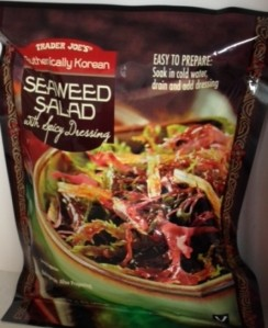 Trader Joe'sAuthentically Korean Seaweed Salad with Spicy Dressing