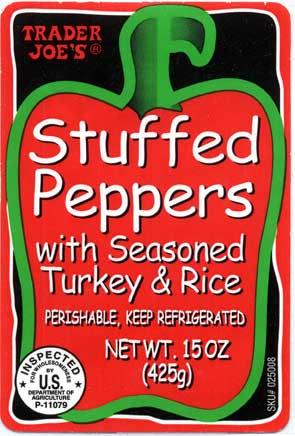 Trader Joe's Stuffed Peppers