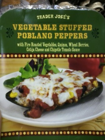 Trader Jose's Vegetable Stuffed Poblano Peppers