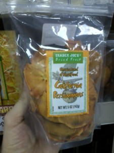 Trader Joe's Dried California Persimmons