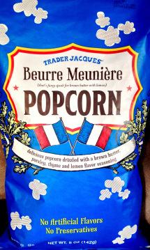Trader Joe's Buerre Meuniere Popcorn