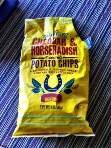 Trader Joe's Cheddar and Horseradish Potato Chips