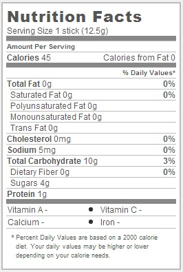 Trader Joe's Crunchy Black and White Rice Rolls - Nutrition Facts