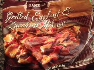 Trader Joe's Grilled Zucchini and Eggplant Melange