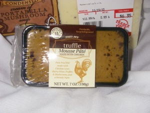 Trader Joe's Truffle Mousse Pate