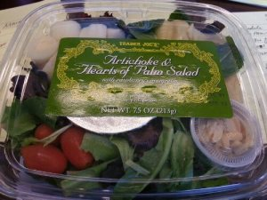Trader Joe's Artichoke and Hearts of Palm Salad