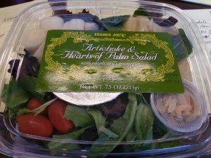 Trader Joe's Artichoke and Hearts of Palm Salad