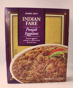 Trader Joe's Indiant Fare - Pujab Eggplant