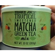 Trader Joe's Tropical Sweetened Matcha