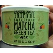 Trader Joe's Tropical Sweetened Matcha