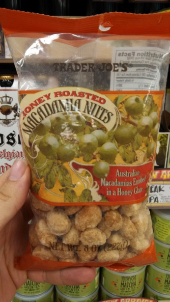 Trader Joe's Honey Roasted Macadamia Nuts