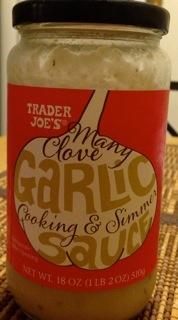 Trader Joe's Many Clove Cooking and Simmer Sauce
