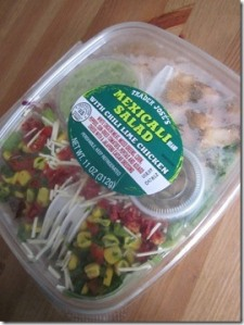 Trader Joe's MexiCali Salad with Chili Lime Chicken