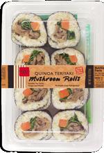 Trader Joe's Quinoa Teriyaki Mushroom Rolls