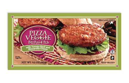 Trader Joe's Pizza Veggie Burgers
