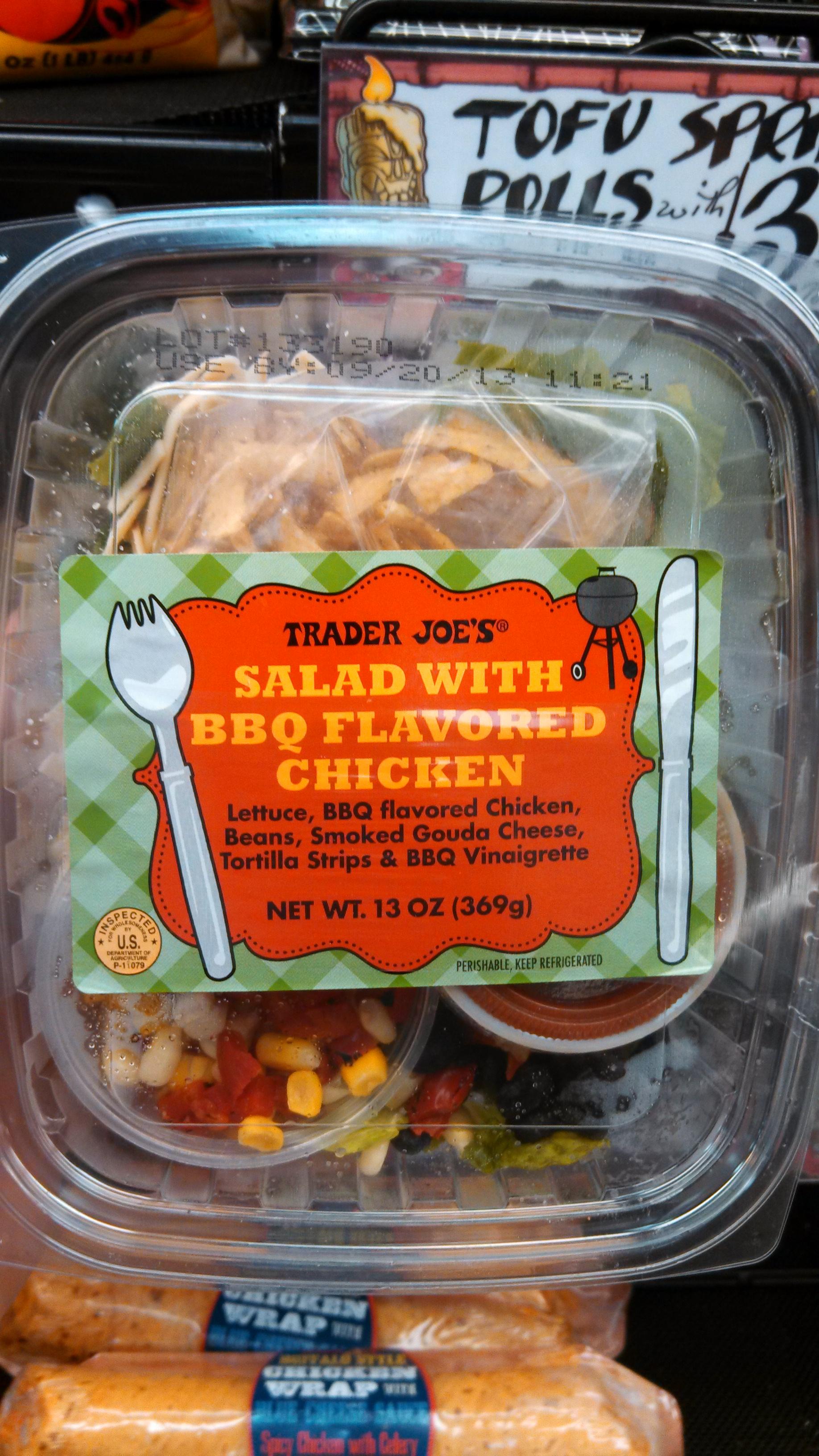 salad trader joe s brand tags bbq chicken bbq chicken salad 1 comment