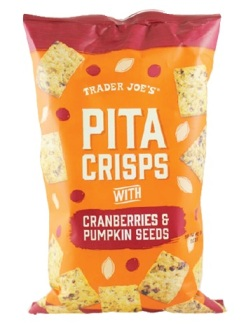 Trader Joe's Pita Crisps with Cranberries and Pumpkin Seeds