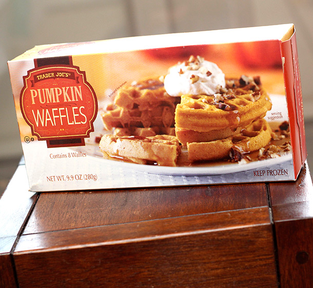 Trader Joe's Pumpkin Waffles | Eat At Joes