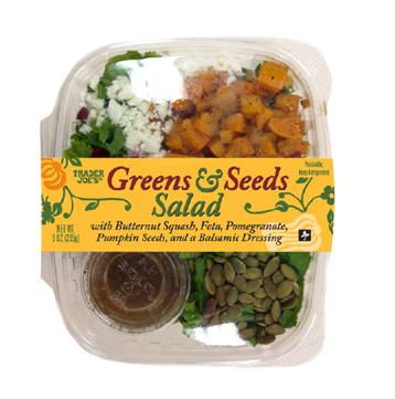 Trader Joe's Seeds and Greens Salad