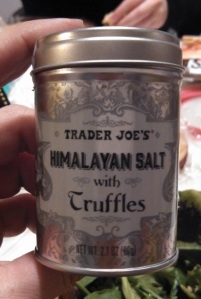 Trader Joe's Himalayan Salt with Truffles
