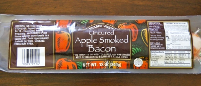 Trader Joe's Uncured Apple Smoked Bacon