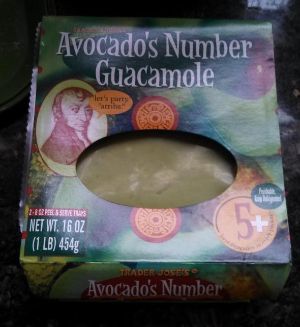 Trader Joe's (Trader Jose's) Avacado's Number Guacamole
