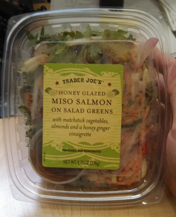 Trader Joe's Honey Glazed Miso Salmon