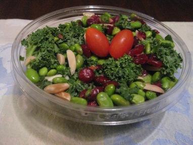 Trader Joe's Kale and Edamame Bistro Salad