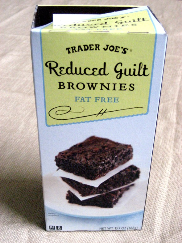Trader Joe's Reduced Guilt No Fat Brownies