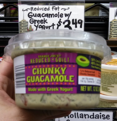 Trader Joe's Reduced Guilt Guacamole