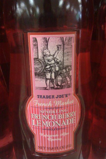 Trader Joe's Sparkling French Berry Lemonade