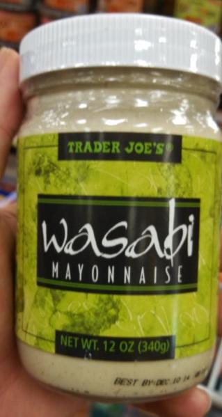 Trader Joe's Wasabi Mayonnaise