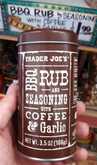 Trader Joe's BBQ Rub and Seasoning With Coffee and Garlic